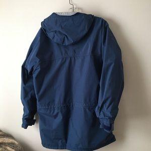 Men's vintage Far West rain jacket coat